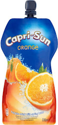 Capri-Sun Orange Fruit Juice Drink with Spring Water - 330ml