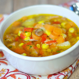 Honeybaked Ham and Vegetable Soup