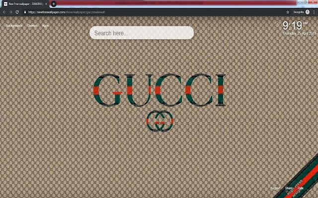 Gucci snake wallpaper new tabs HD