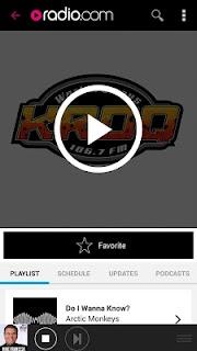 Radio.com screenshot 01