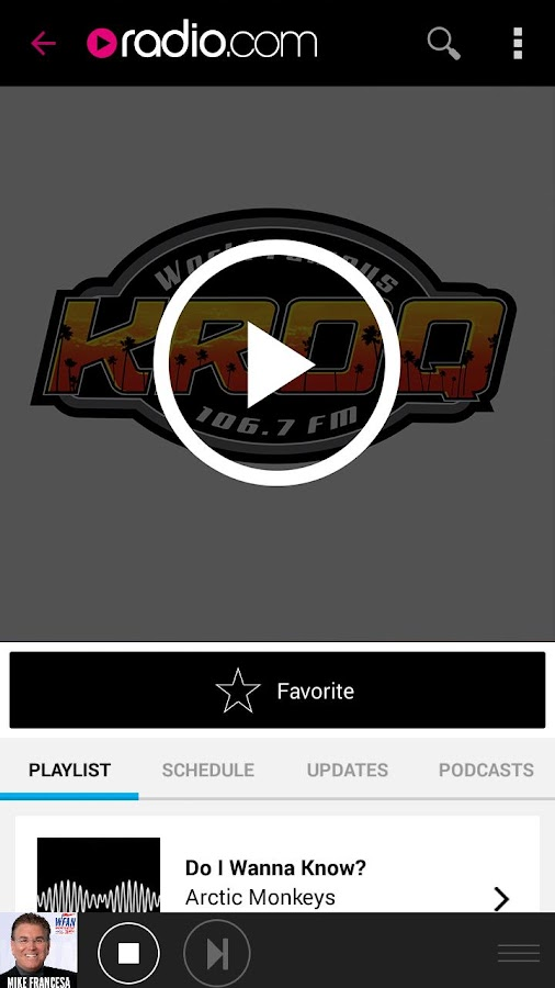 Radio.com- screenshot