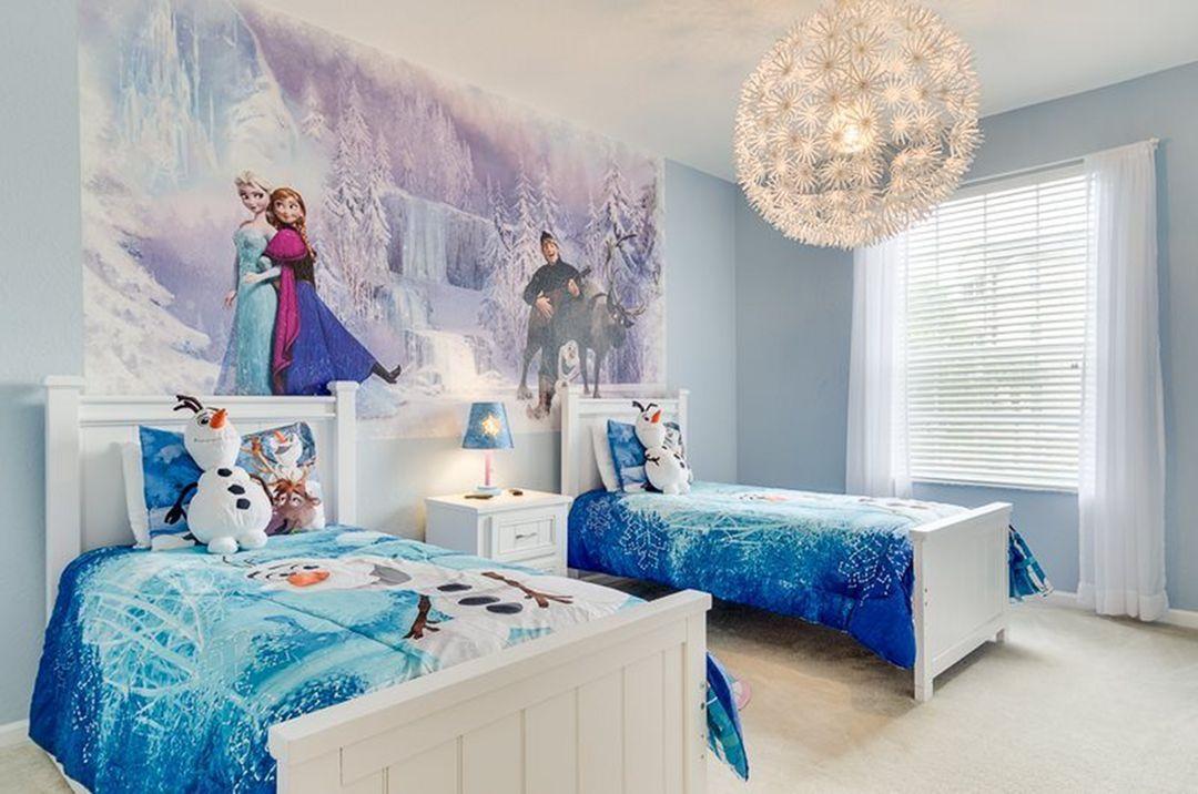 Phòng ngủ Elsa đep nhất cho bé gái