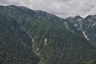 Photo: 蓮華岳~針木岳の稜線。もう一度、冬に訪れたい場所の一つです。