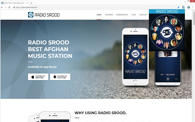 Radio Srood Player