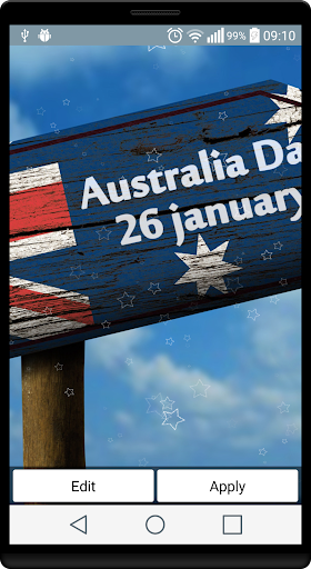オーストラリアデーライブ壁紙