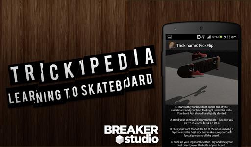 Trickipedia Skateboard 1.3 screenshots 1