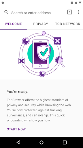 Tor Browser for Android (Alpha) 60.6.0 screenshots 2