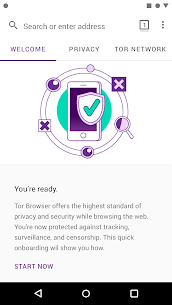 Tor Browser (Alpha) 68.9.0 APK Mod for Android 2