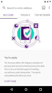 Tor Browser (Alpha) Screenshot