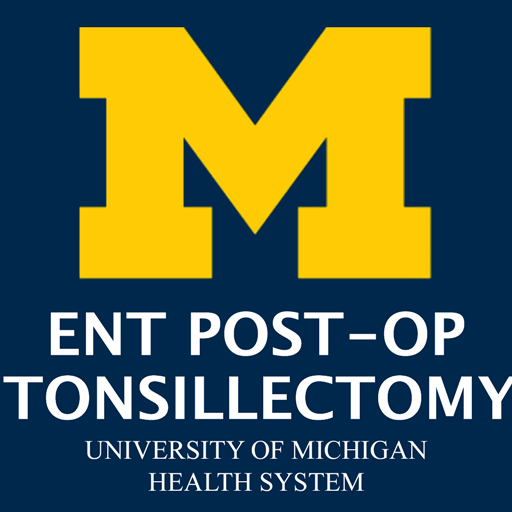 Mott Ent Post Op Tonsillectomy Aplikacije Na Google Playu