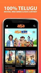 aha – 100% Telugu Web Series MOD APK (Premium) 1