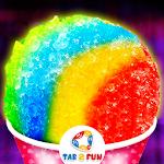 Glowing Rainbow Snow Cone-A DIY Snow Dessert Games