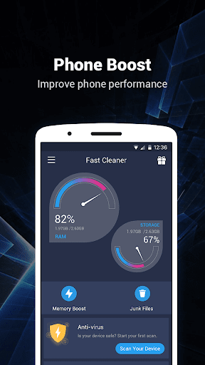 Fast Cleaner - Speed Booster & Cleaner 2.4.6 screenshots 1