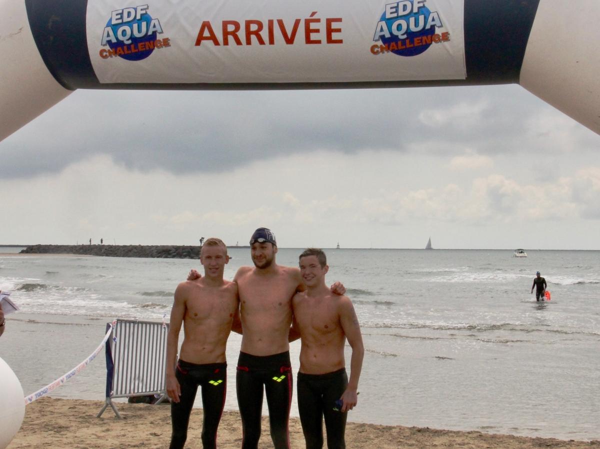 EDF Aqua Challenge - Le Brescou (Le Cap d'Agde) - Etape 1