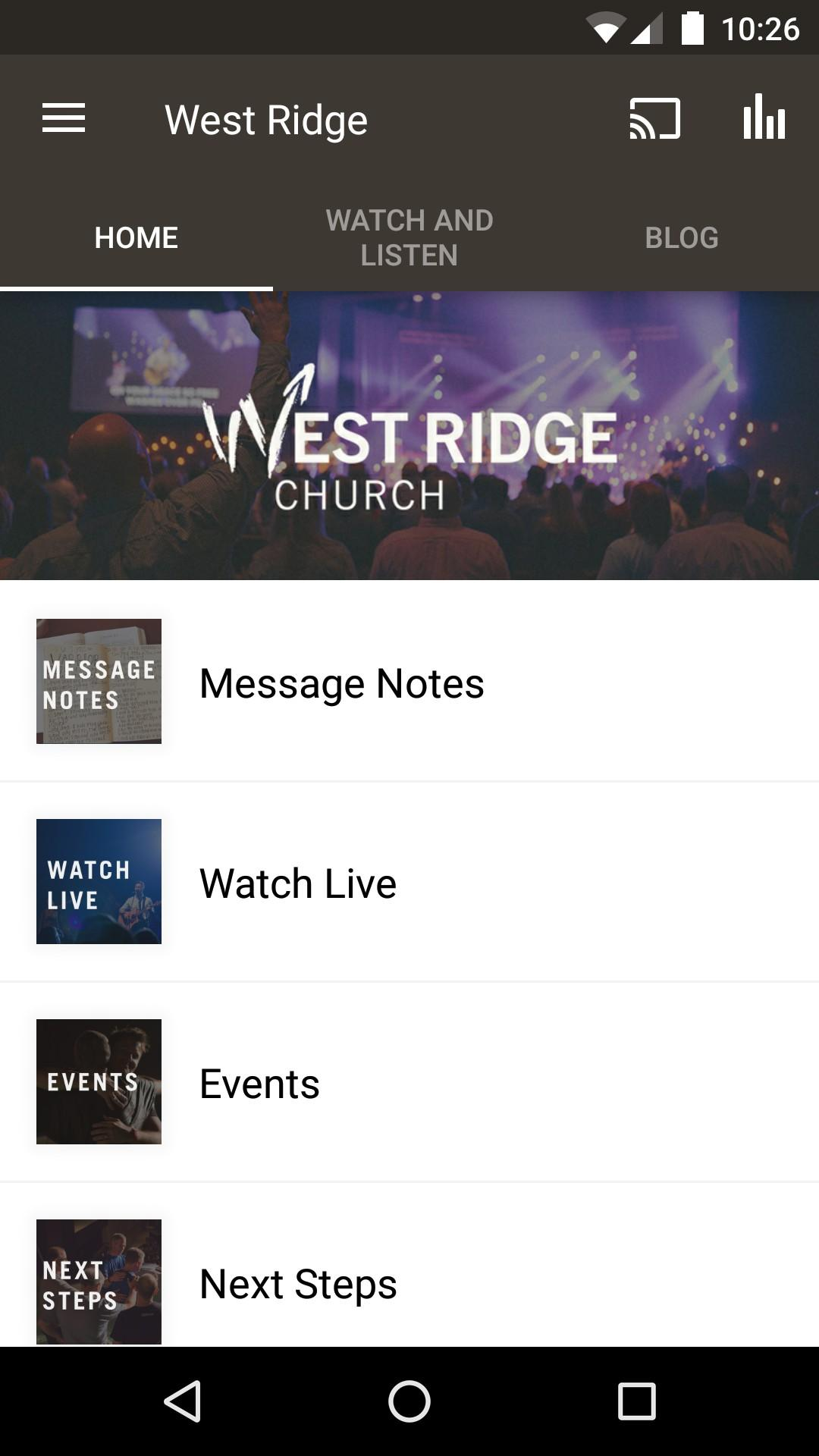 West Ridge Church screenshot #1