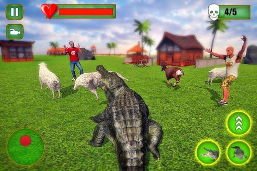 Angry Crocodile Family Simulator: Crocodile Attack filehippodl screenshot 3
