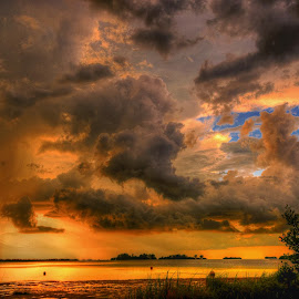Dunedin, Florida. by Edward Allen - Landscapes Cloud Formations