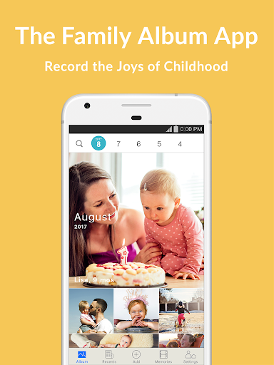 Family Album Mitene: Private Photo & Video Sharing  screenshots 6