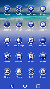 Enyo Blue - Icon Pack screenshot 1
