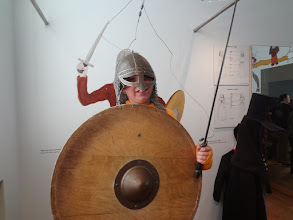 Photo: Julia as a viking!