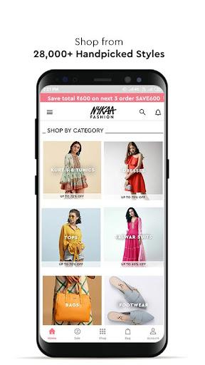Nykaa Fashion u2013 Online Shopping App screenshots 3