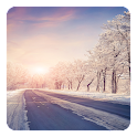 Winter Road Live Wallpaper icon