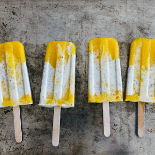 Coconut Chia Mango Popsicles Recipe