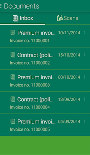 Sanitas customer portal app- screenshot thumbnail