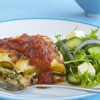 Butternut Squash and Spinach Lasagna.