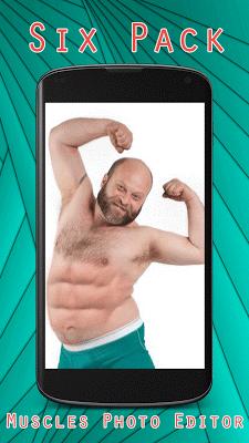 Six Pack Muscles Photo Editor - screenshot