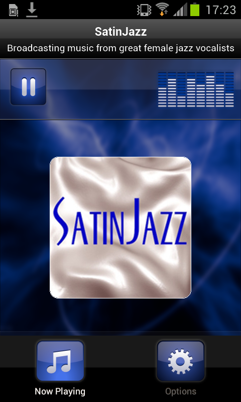 SatinJazz- screenshot