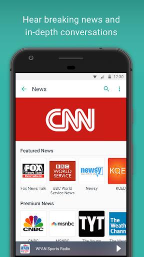 TuneIn Radio: Stream NFL, Sports, Music & Podcasts screenshot 3