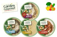 Angebot für Veganer Hummus im Supermarkt