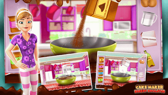 Cake Maker Pekařství Simulator - náhled