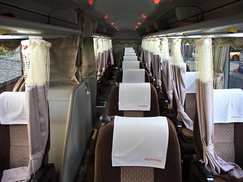 伊予鉄バス「オレンジライナー」東京線 5619 車内