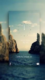 Blue ocean sky theme - náhled
