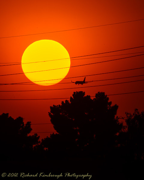 Photo: Day 153 - June 1st, 2012  A city sunset to end the day.  ©Richard Kimbrough