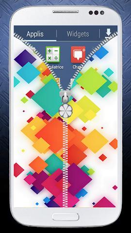 android Zipper Screen Lock 2016 Screenshot 3