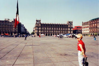 Photo: #018-Mexico - Place de la Constitution (Zocalo)