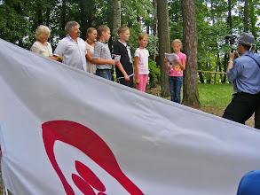 Photo: Stovykloje svečiavosi bendraminčiai iš Suvalkijos.