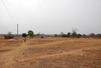 Photo: En route vers le terrain du centre d'accueil