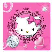 App Diamond Cute Cat Keyboard Theme APK for Windows Phone