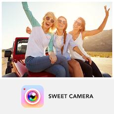 Sweet Camera - 美顔自撮り、写真編集、画像加工、カメラアプリのおすすめ画像1