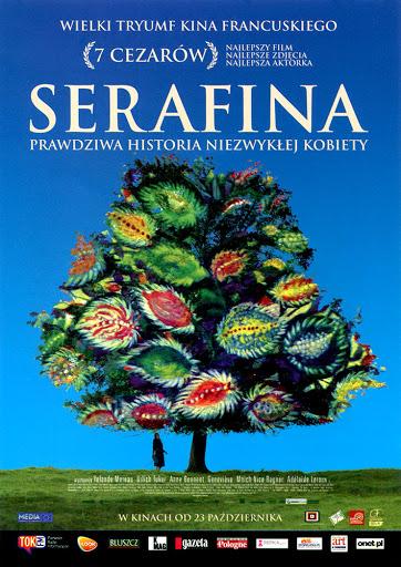 Przód ulotki filmu 'Serafina'