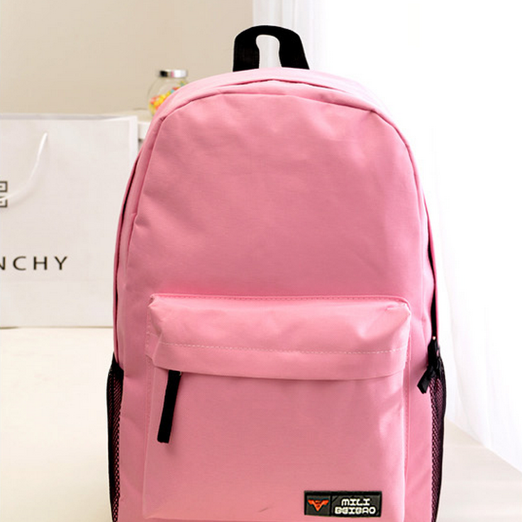 Candy Wonder Backpack Bag/Laptop Bag/School Bag-TL0021-ROSE PINK by DOUBLE LH SUPPLY