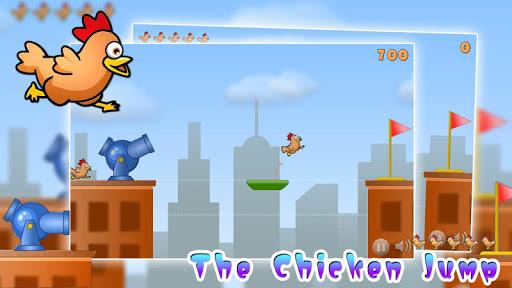 The chicken jump