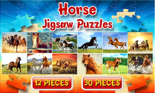 馬のジグソーパズルゲーム無料