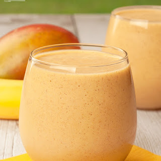Tropical Breakfast Smoothie.