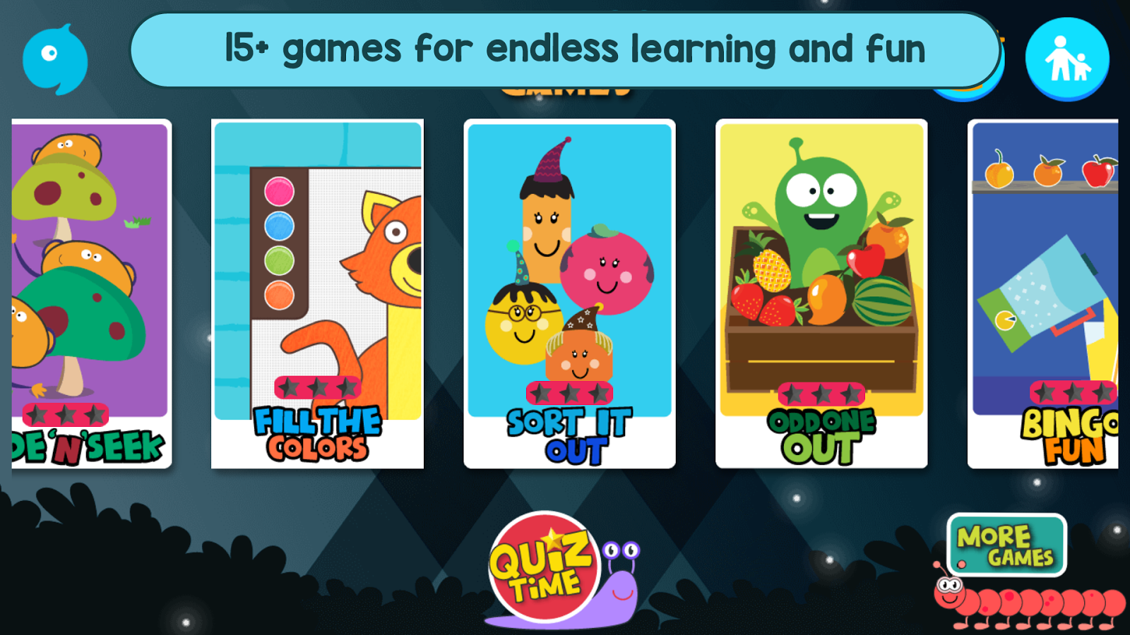 Kids Educational Game 3 Free Screenshot