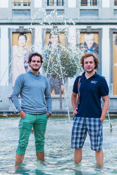 Jasper Verreydt en Geert Slachmuylders in de prijzen met microwaterkrachtcentrale